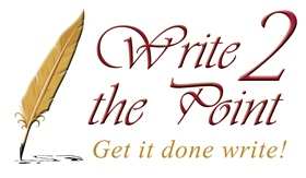 Write 2 the Point Logo
