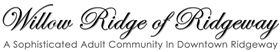 Willow Ridge of Ridgeway Logo