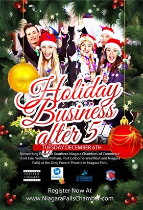 Chamber's Holiday BA5 Poster