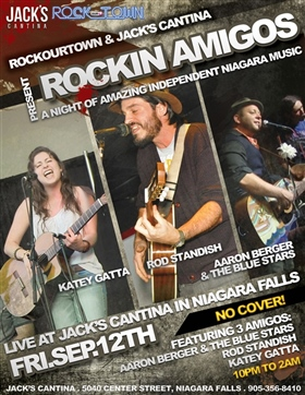Rockin Amigos Event Flyer