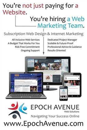 Epoch Avenue Subscription Poster