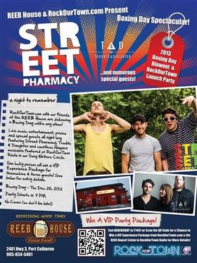 Street Pharmacy Party Poster