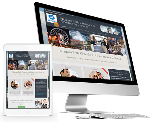 Custom Website Design for Niagara Falls Chamber
